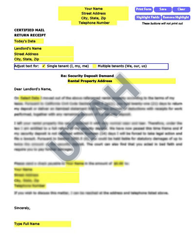Utah-security-deposit-demand-letter